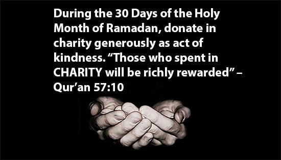 Ramadan 30 Days Goal